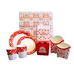Бумажная одноразовая посуда и упаковка